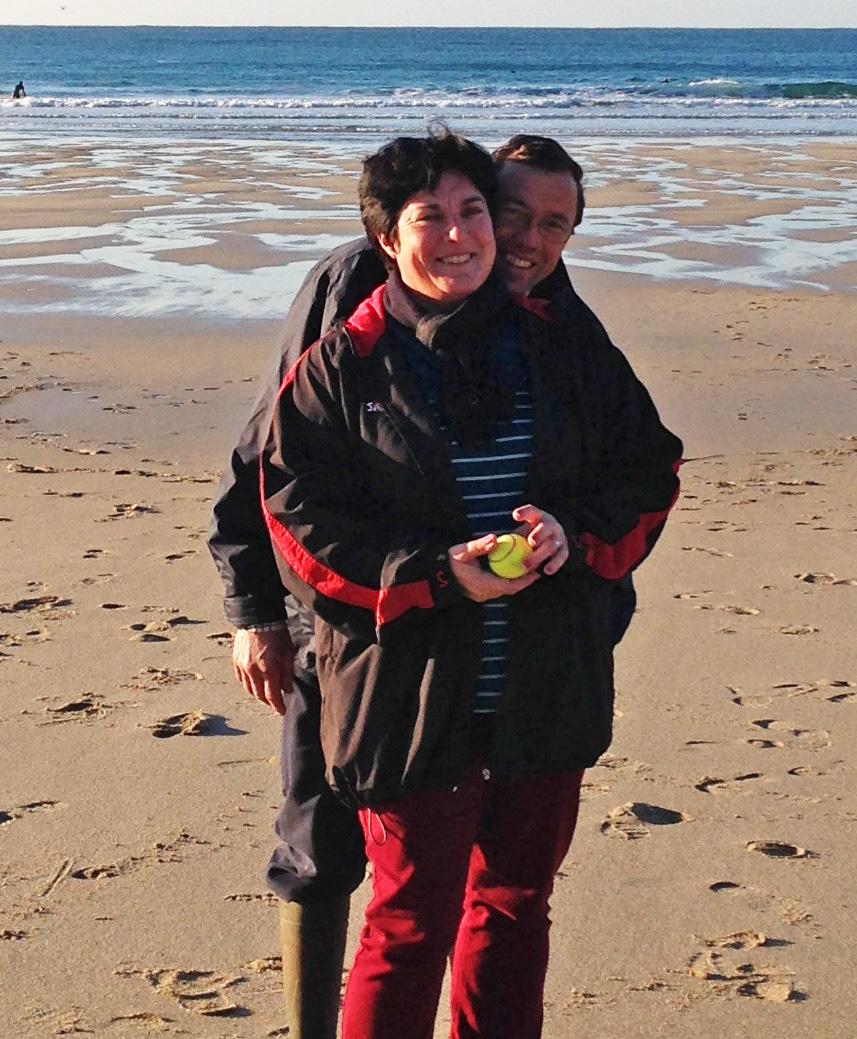 John and Wendy Trevedra Farm Cornwall