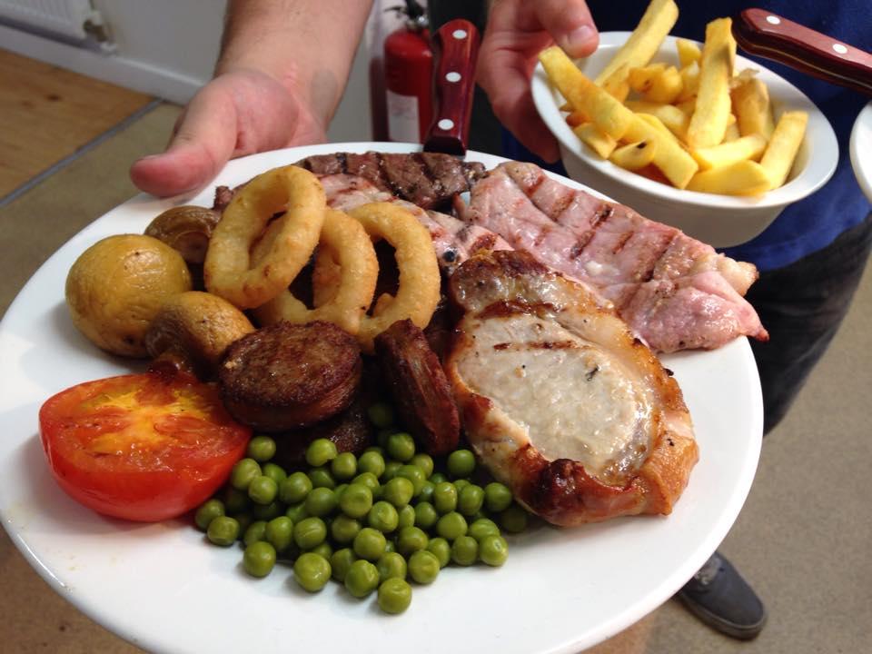 Local meat grill Cornwall - Trevedra Farm