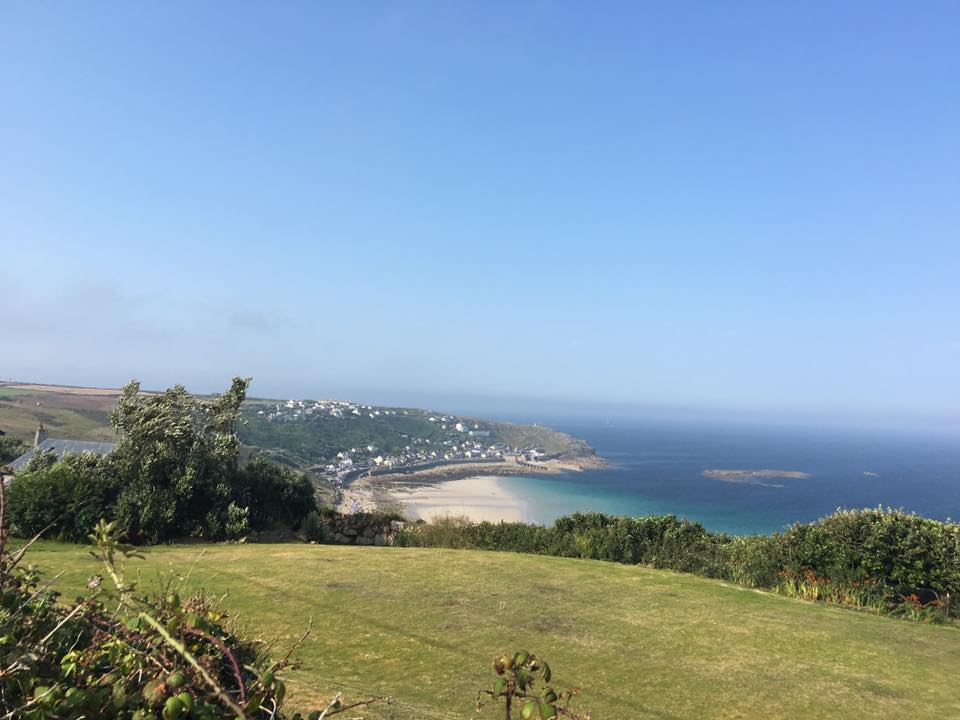 View to Sennen from Gwynver