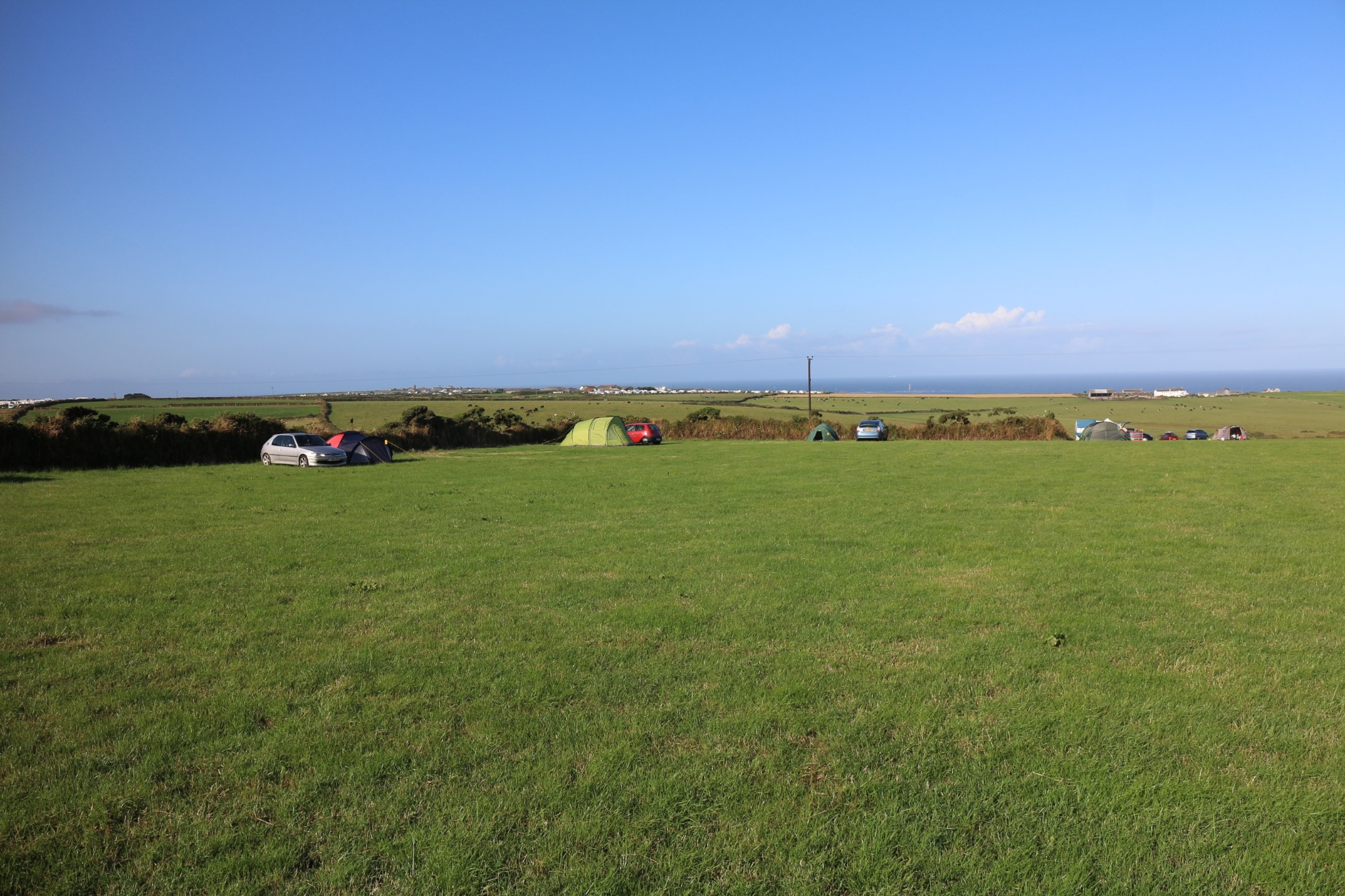 Brea Vean Campsite near Lands End